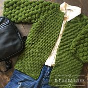 Одежда handmade. Livemaster - original item Women`s knitted cardigan. Handmade.