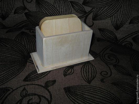 Декупаж и роспись ручной работы. Ярмарка Мастеров - ручная работа. Купить короб с подставками под горячее. Handmade. Белый, короб