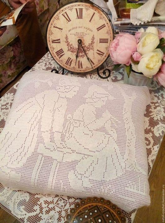 Текстиль, ковры ручной работы. Ярмарка Мастеров - ручная работа. Купить наволочка на декоративную подушку. Handmade. Подушка, подарок