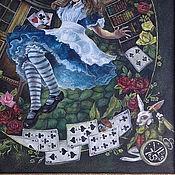Картины и панно handmade. Livemaster - original item Oil painting on canvas Alisa in Wonderland. Handmade.
