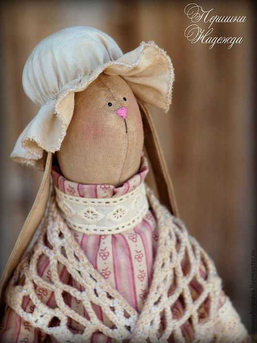 Ароматизированные куклы ручной работы. Ярмарка Мастеров - ручная работа. Купить Зая Моника. Винтажная Чердачная Кофейная Ароматизированная Игрушка. Handmade.