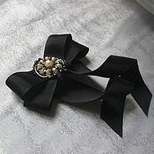 Украшения handmade. Livemaster - original item Brooch-pin: Brooch-tie