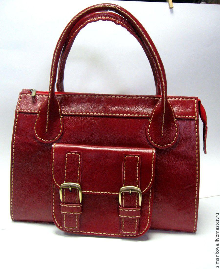 Саквояж малый, клюква, Женские сумки, Коломна, Фото №1