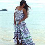Одежда handmade. Livemaster - original item boho sundress provence