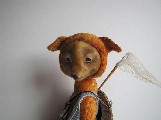 Мишки Тедди ручной работы. Ярмарка Мастеров - ручная работа. Купить Лiс. Handmade. Лис, плюш винтажный