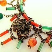 """Украшения ручной работы. Ярмарка Мастеров - ручная работа Колье """"Таинственный сад"""". Handmade."""