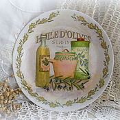 Картины и панно ручной работы. Ярмарка Мастеров - ручная работа декоративные тарелки на стену Изобилие. Handmade.