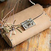 Сумки и аксессуары handmade. Livemaster - original item Bag is made of leather and wood and Primavera. Handmade.