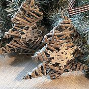 Подарки к праздникам ручной работы. Ярмарка Мастеров - ручная работа Ёлочка со снежинками. Handmade.