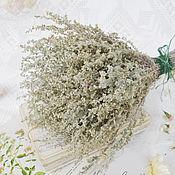 Цветы и флористика ручной работы. Ярмарка Мастеров - ручная работа Полынь сухоцвет букетик. Handmade.