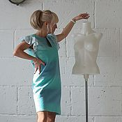 """Одежда ручной работы. Ярмарка Мастеров - ручная работа Платье ручной работы ,валяное """"Морской бриз"""". Handmade."""