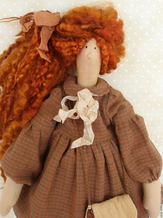 Куклы Тильды ручной работы. Ярмарка Мастеров - ручная работа. Купить Тильда Кукла Тильда Сима:). Handmade. Кукла, шоколадный