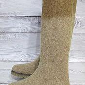 Обувь ручной работы. Ярмарка Мастеров - ручная работа Войлочные сапожки Август. Handmade.