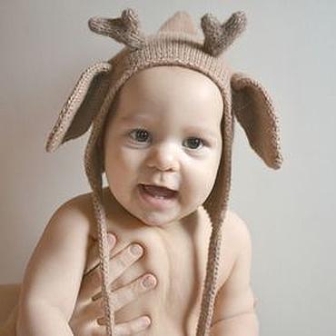 Clothing handmade. Livemaster - original item Copy of Children cap boys 44-46 см warm hat for a boy. Handmade.