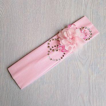 Clothing handmade. Livemaster - original item Bandage/headband for girls 4-6 years.. Handmade.