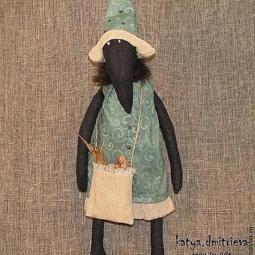 Куклы и игрушки ручной работы. Ярмарка Мастеров - ручная работа Crow Witch. Handmade.