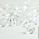 Бусина 6мм Swarovski, цвет Crystal, прозрачные бусины Сваровски, прозрачные бусины Swarovski. Сваровски бусины, бусины для украшений, Сваровски купить бусины.