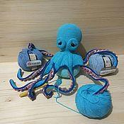 Мягкие игрушки ручной работы. Ярмарка Мастеров - ручная работа Осьминог Клод. Handmade.