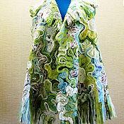 Одежда ручной работы. Ярмарка Мастеров - ручная работа Жакет без рукава Долина Единорогов. Handmade.