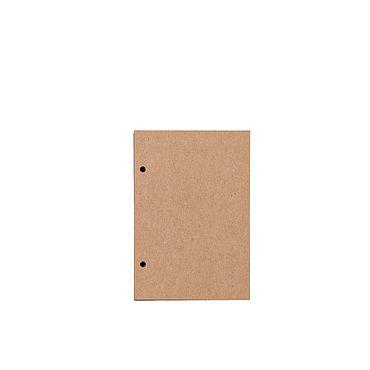 Канцелярские товары ручной работы. Ярмарка Мастеров - ручная работа Блок А6 скетчбук с крафтовыми листами для блокнота на кольцах. Handmade.