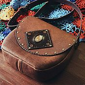 Сумки и аксессуары handmade. Livemaster - original item Bag genuine leather Bohemian