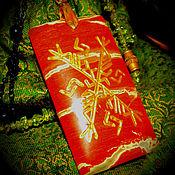 """Фен-шуй и эзотерика handmade. Livemaster - original item """"Золотой клиент"""", рунический талисман из натурального камня. Handmade."""