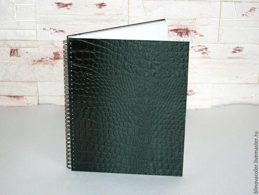 Блокноты ручной работы. Ярмарка Мастеров - ручная работа. Купить Скетчбук из натуральной кожи. Handmade. Скетчбук, натуральная кожа