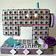 Букеты ручной работы. Ярмарка Мастеров - ручная работа. Купить Швейная машина из конфет. Handmade. Швейная машинка, подарок женщине