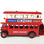 Винтаж ручной работы. Ярмарка Мастеров - ручная работа Модель ретро автобуса,Англия,LLEDO. Handmade.