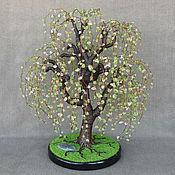 Цветы и флористика handmade. Livemaster - original item The weeping willow tree of peridot and citrine. Handmade.