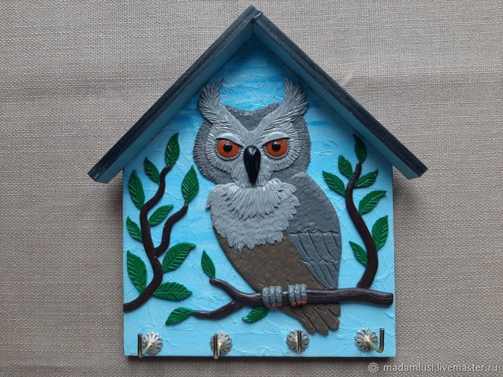 Housekeeper Grey Owl. The housekeeper wall, Housekeeper, Shuya,  Фото №1