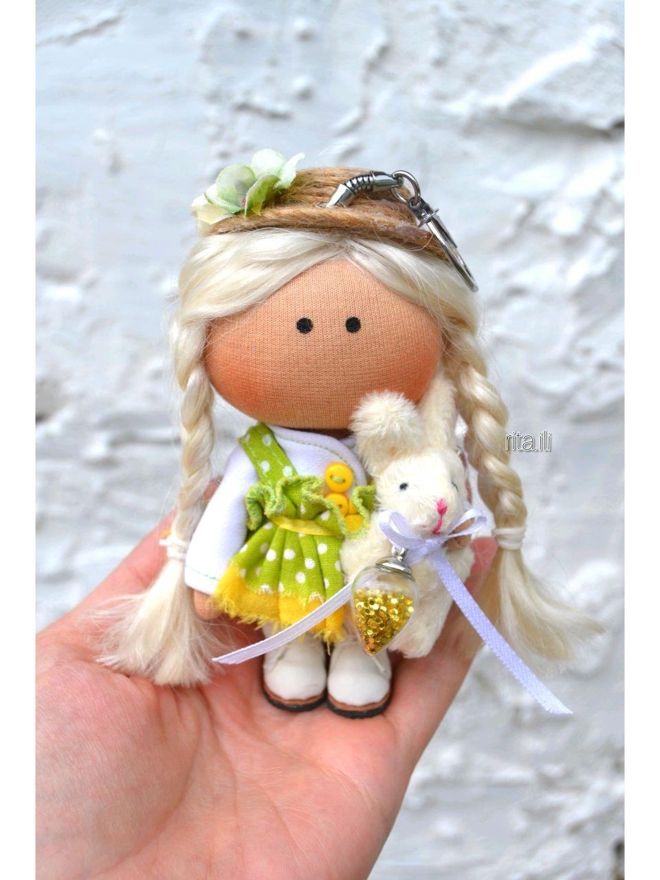 Кукла брелок ручной работы, Тыквоголовка, Краснокамск,  Фото №1