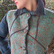 """Одежда ручной работы. Ярмарка Мастеров - ручная работа Пальто Войлок """"Любимое"""". Handmade."""