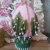 Сувениры и подарки ручной работы. Ярмарка Мастеров - ручная работа Яйцо-шкатулка Ландыши. Handmade.
