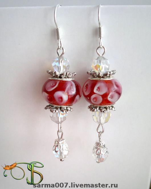 Earrings handmade. Livemaster - handmade. Buy Earrings 'Caramels' Pandora style.Gift, exclusive gift, more earrings, earrings lampwork
