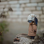 Куклы и игрушки ручной работы. Ярмарка Мастеров - ручная работа синее пёрышко. Handmade.