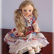 Куклы и игрушки ручной работы. Ярмарка Мастеров - ручная работа Дашенька, авторская текстильная кукла. Handmade.