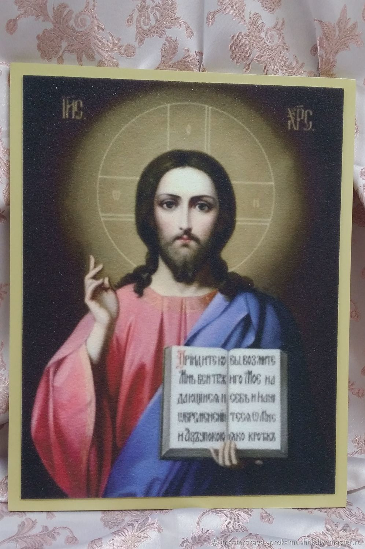 Иисус Христос, Иконы, Златоуст,  Фото №1