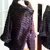 Одежда handmade. Livemaster - original item Knitted fur coat