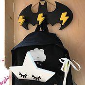 Для дома и интерьера ручной работы. Ярмарка Мастеров - ручная работа Вешалка настенная Бэтмен. Handmade.