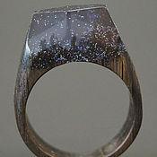 """Украшения ручной работы. Ярмарка Мастеров - ручная работа Деревянное кольцо """"Волшебная  принцесса 14"""", кольцо из дерева. Handmade."""