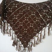 Аксессуары ручной работы. Ярмарка Мастеров - ручная работа Бактус вязаный, шарф. Handmade.