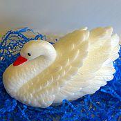 Косметика ручной работы. Ярмарка Мастеров - ручная работа Мыло ручной работы-Лебедь 3D. Handmade.