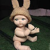 Куклы и игрушки ручной работы. Ярмарка Мастеров - ручная работа пупсик фарфоровый, шарнирный. Handmade.
