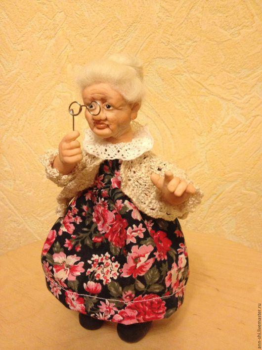 Коллекционные куклы ручной работы. Ярмарка Мастеров - ручная работа. Купить Бабусинка. Handmade. Комбинированный, подарок