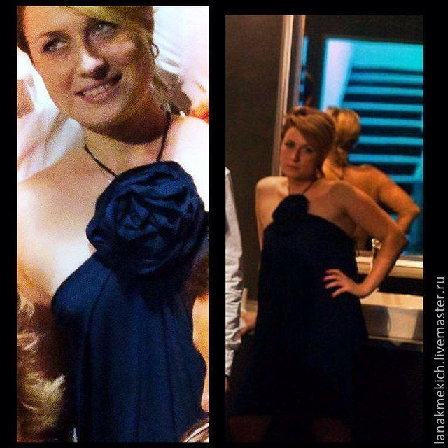 evening dress 'a Delicate flower', Dresses, Moscow,  Фото №1