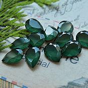 Cabochons handmade. Livemaster - original item Drop 10h14 Lak Emerald SUITE. Handmade.