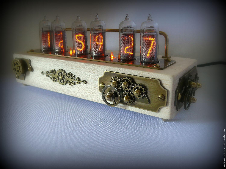 Ламповые часы в стиле всем известной игры