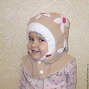 """Одежда ручной работы. Ярмарка Мастеров - ручная работа Шлем для девочки  """"Весна"""". Handmade."""