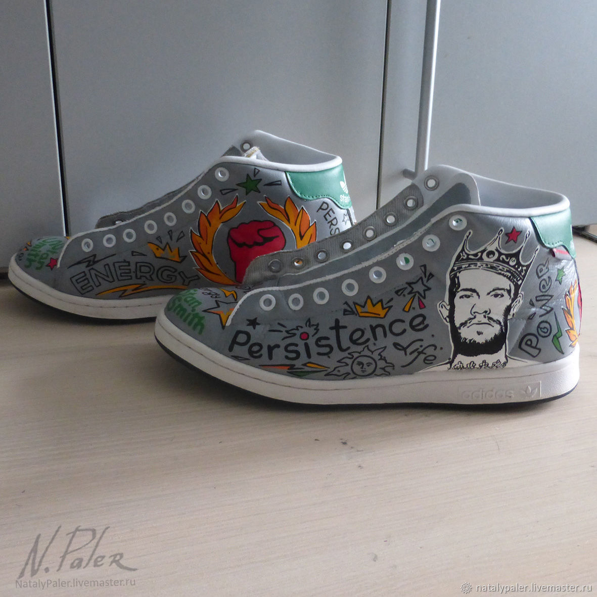 Painting on shoes. Sneakers ' for real athletes', Sneakers, Moscow,  Фото №1